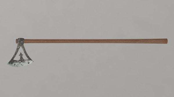 viking broadaxe 3D