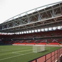 3D spartak stadium model