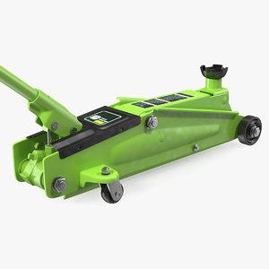 3D hydraulic trolley jack generic model