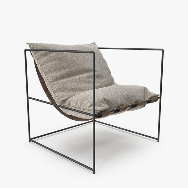 arm chair soft model