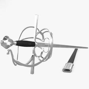 rapier 3D model