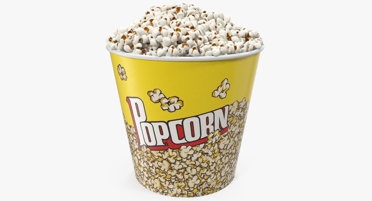 Big Popcorn Bucket