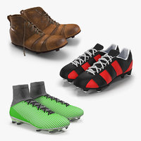 Soccer Boots 3D Models Collection 2