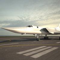 3D model tupolev tu-22m tu