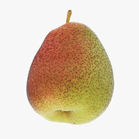 pear vrayforc4d 3D model
