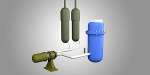 pressurized water reactor model