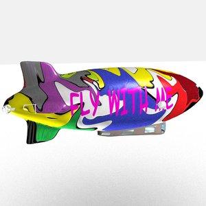 3D zeppelin