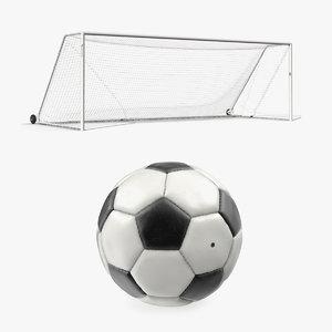 3D soccer goal ball