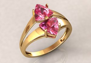 stl ring 2 3D model