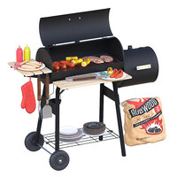 outdoor grill decor 3D