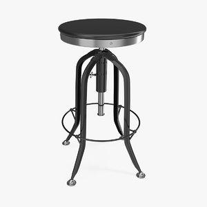 3D barstool furniture bar stool chair