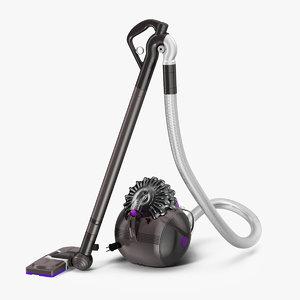dyson big ball vacuum cleaner 3D model