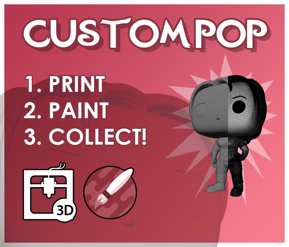 3D pop custom model