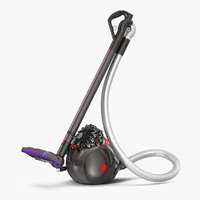 bagless vacuum cleaner dyson 3D model