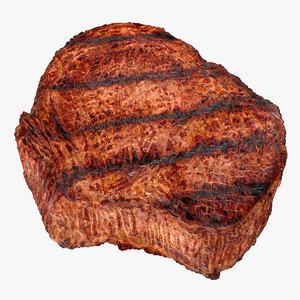 grilled flank steak 3D model