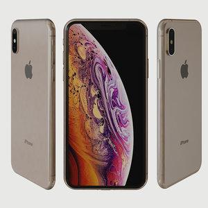 i-phone xs 3D