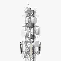 3D cell phone tower 3