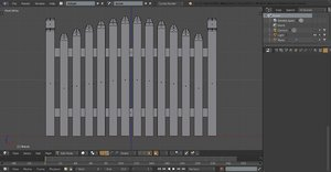 display fence 3D