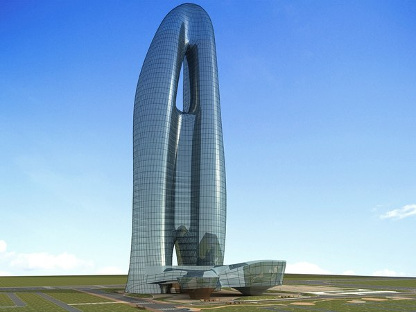 3D futuristic skyscrapers 6