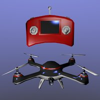 Drone with joystick