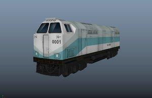 3D china qinghai tibet railway