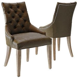 3D martine chair model