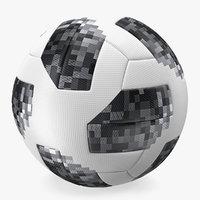 3D soccer ball modern generic