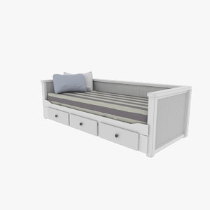 bed furniture 3D model