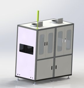 3D model dispensing coating all-in-one machine