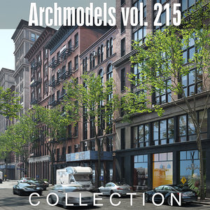 archmodels vol 215 3D