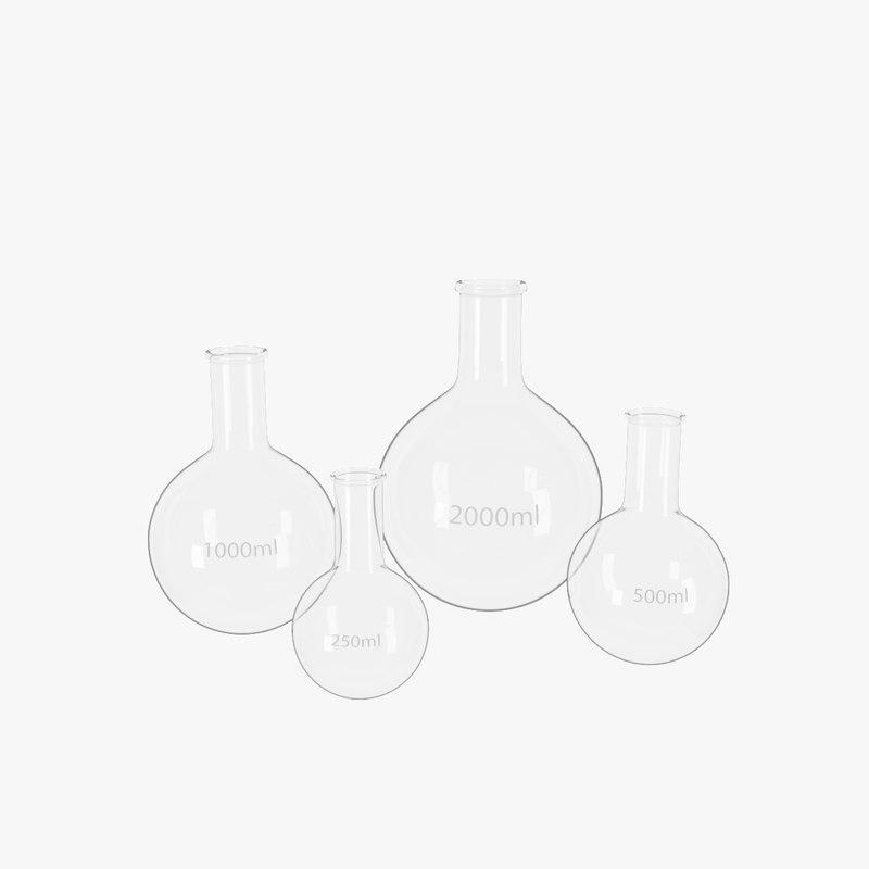 3D flasks -
