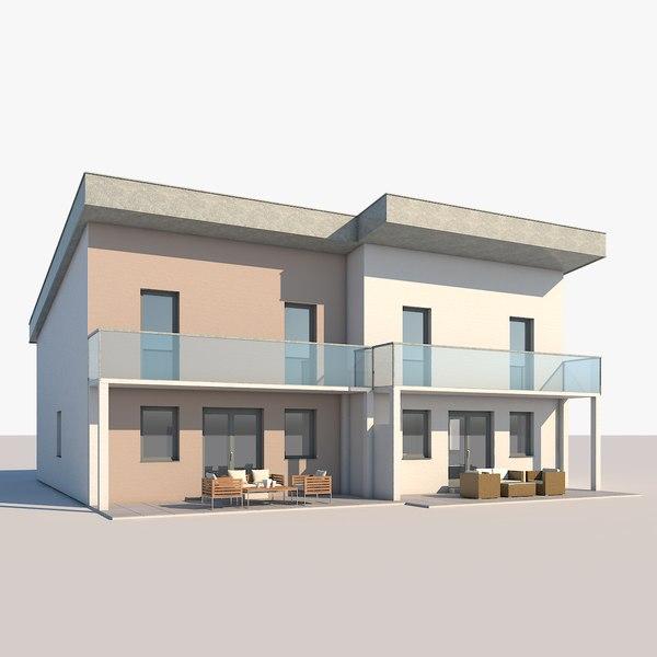 contemporary house model