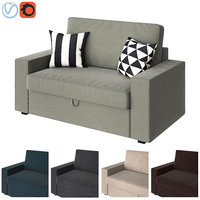 3D sofa ikea vilasund model
