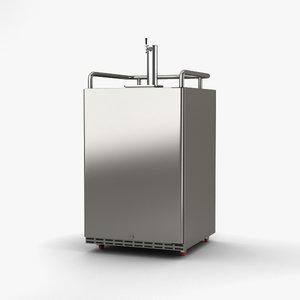 3D edgestar kc7000 model