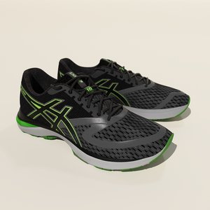 asics gel-pulse 3D model