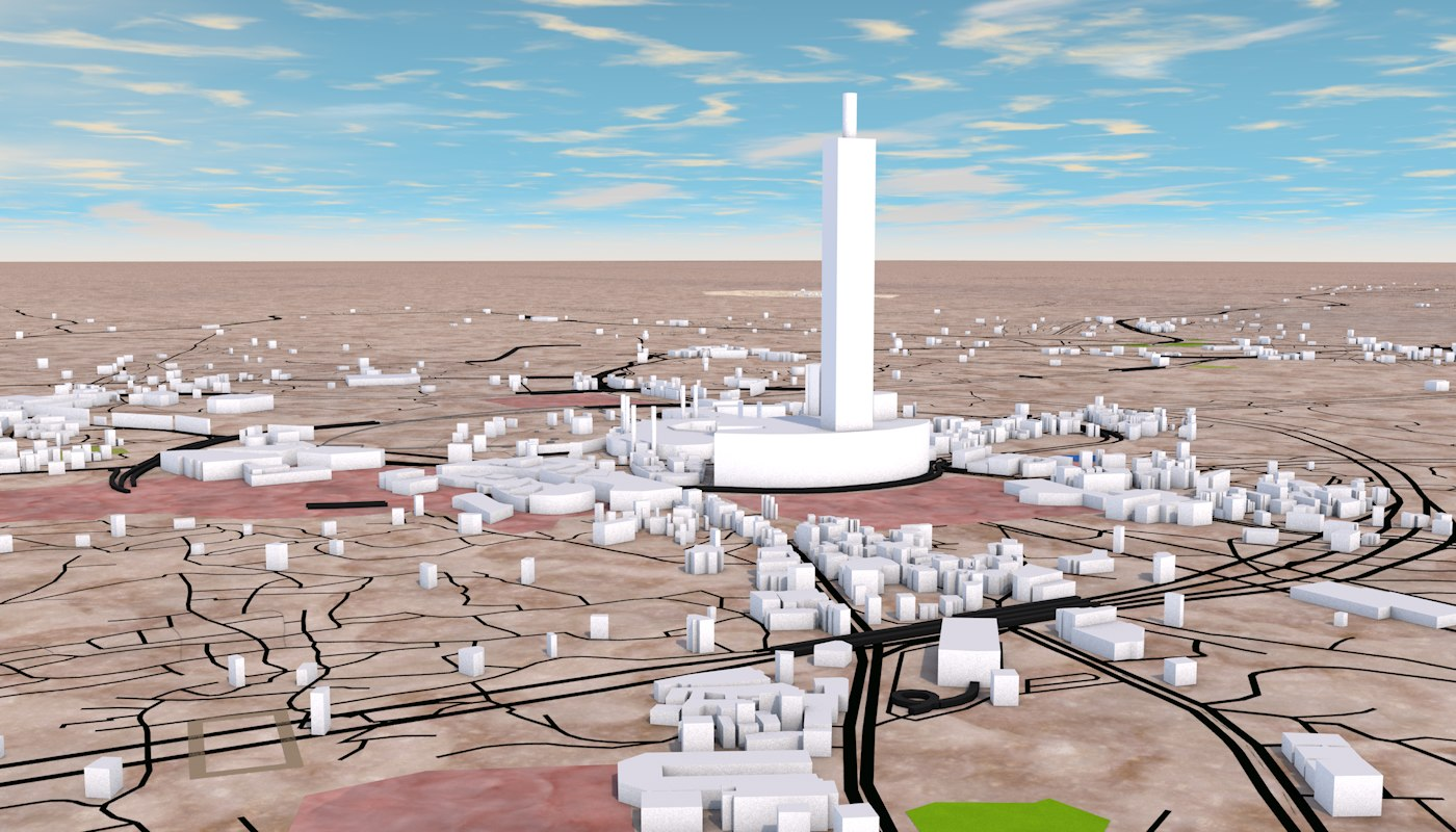 FermiCG: MECCA CITY 3D MODEL