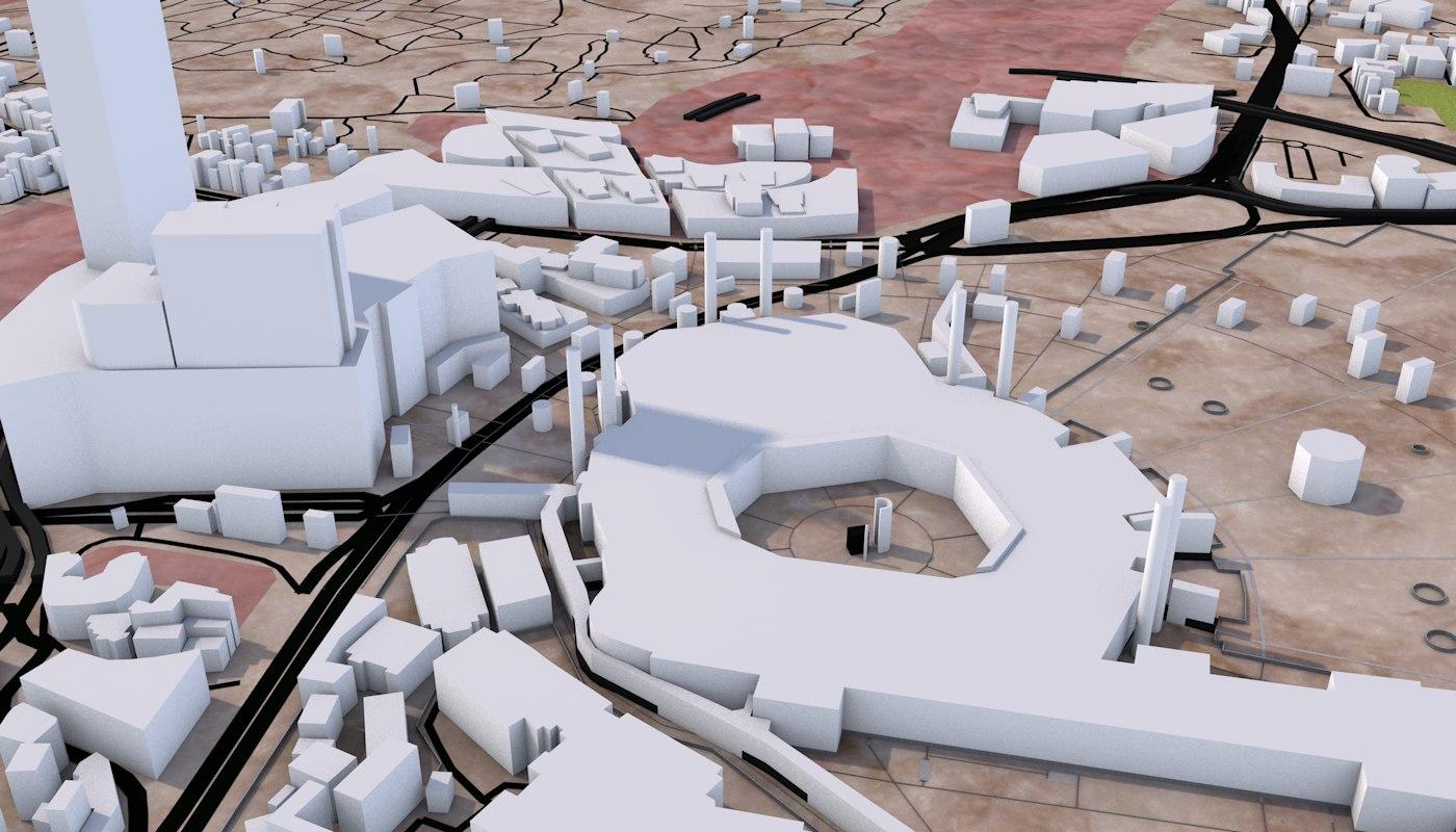 MECCA CITY 3D MODEL