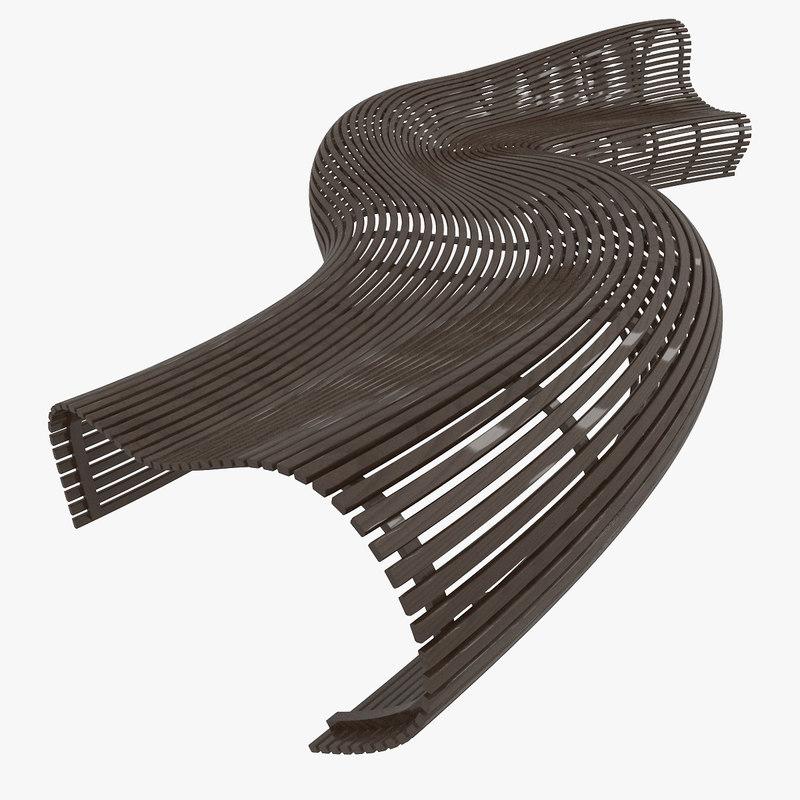 designed bench model