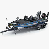 NITRO Z20 Pro 2019 Bass Boat and Trailer
