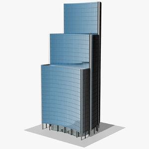 3D willis building london model