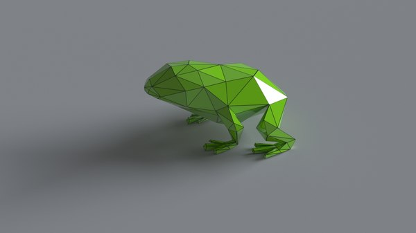3D sculpting printing frog
