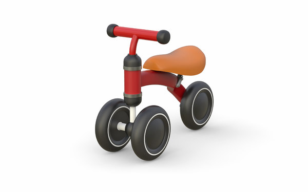 3D childrens mini tricycle model