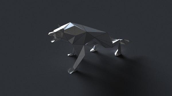 bulldog sculptures 3D model