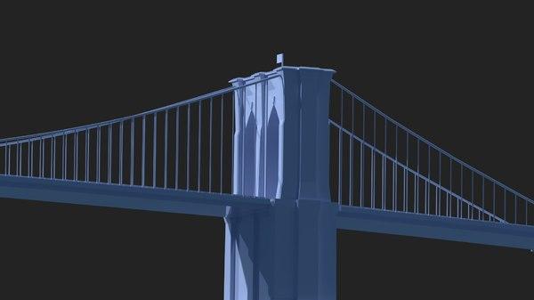 brooklyn bridge printing model