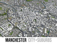 Manchester - city and surroundings