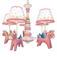 chandelier unicorns suspension model