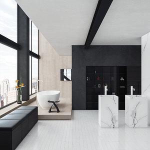 bathroom 2 pbr 3D model