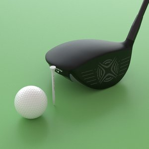 3D golf set