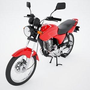urban motorbike 3D model