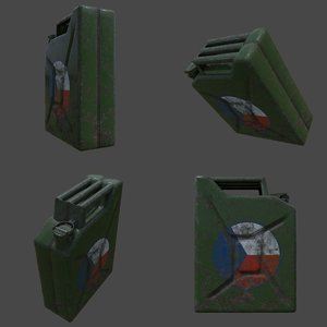 canister 3D model